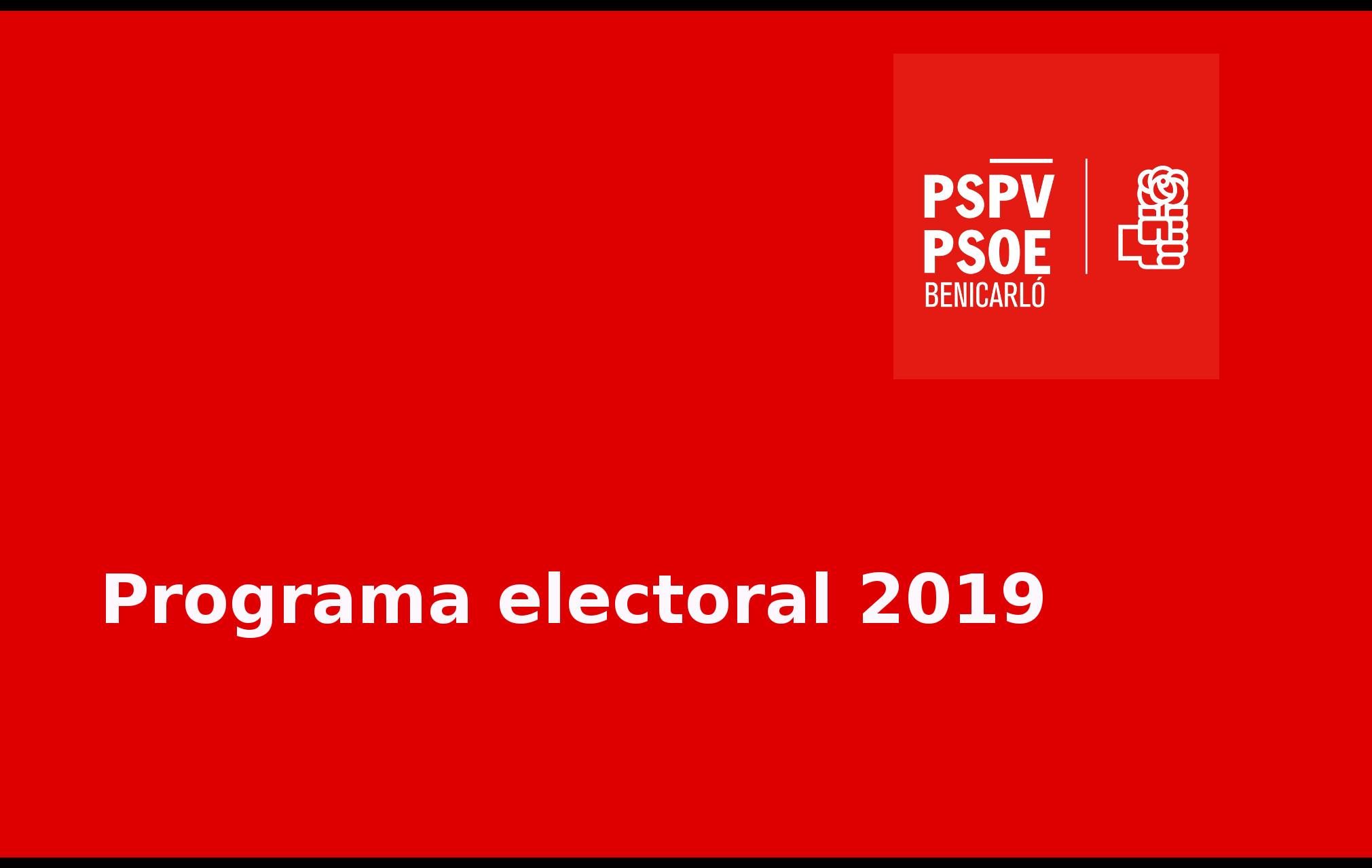 Programa municipal completo 2019
